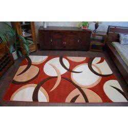Carpet TIGA 0999A kahve/kiremit