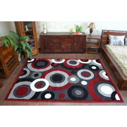 Carpet CHENILLE 9386 black/red