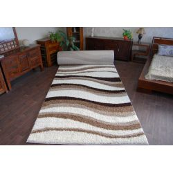 Carpet wall to wall SHAGGY 5cm design 2490 ivory beige