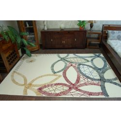 Carpet FOLK AKURATNY cream