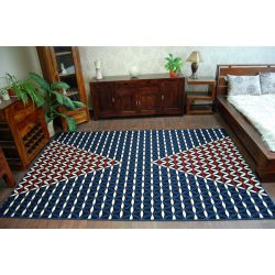 Carpet FOLK REGIEL black
