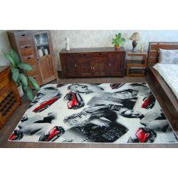 Carpet ALMIRA POPULER H177 black red