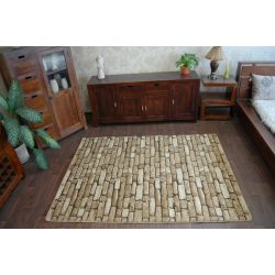 Carpet ALMIRA 2953 dark brown