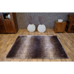 Carpet SHAGGY SOFT - 3D 2490 brown beige