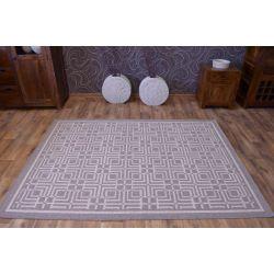 Carpet DIUNA RUFF dark beige