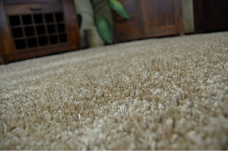 Fluffy cheap soft carpets shaggy 39 narin beige 39 high for Cheap wall to wall carpet