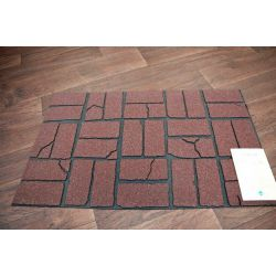 Doormat ECO-MAT 45x76 USED BRICK