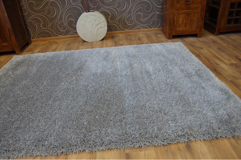 Fluffy cheap soft carpets shaggy 39 narin grey 39 high quality for Cheap wall to wall carpet