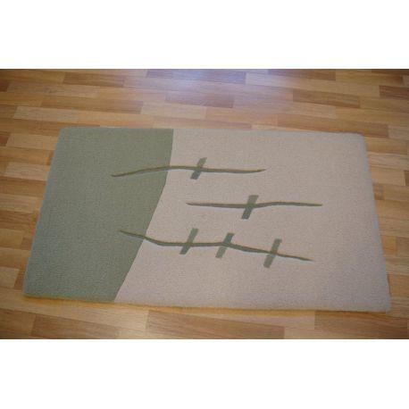 Carpet LAKUZA olive/krem