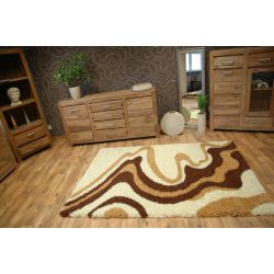 Carpet SHAGGY LONG 4120 ivory