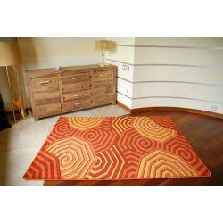 Carpet RUBIKON 8581 orange