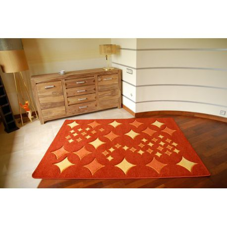 Carpet RUBIKON 8310 orange