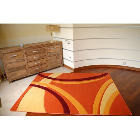 Carpet RUBIKON 81181 orange