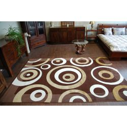 Carpet LILIUM 4717 brown yellow