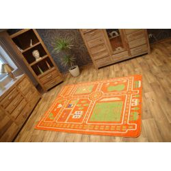 Carpet KIDS CITY orange