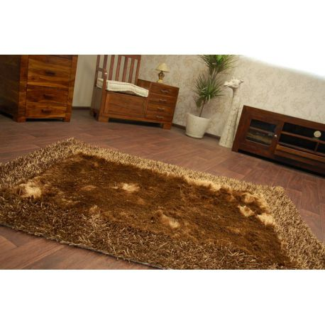 Carpet SHAGGY POLIESTER INDIE 1021 brown