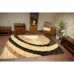 Carpet SHAGGY POLIESTER INDIE 2017 beige/brown