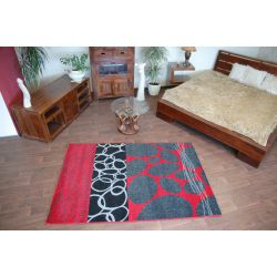 Carpet SIMLI GOLD design 6057 black-red
