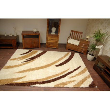 Carpet SHAGGY 5cm design 113 cream