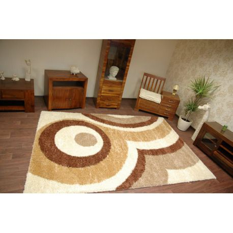 Carpet SHAGGY 5cm design 039 cream
