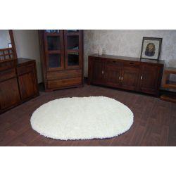 Carpet oval SHAGGY GALAXY 9000 cream