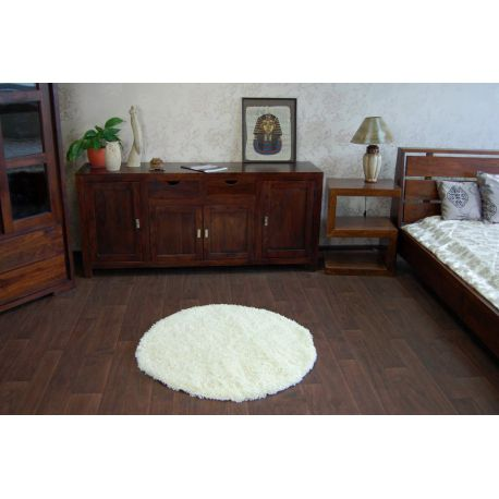 Carpet circle SHAGGY GALAXY 9000 cream