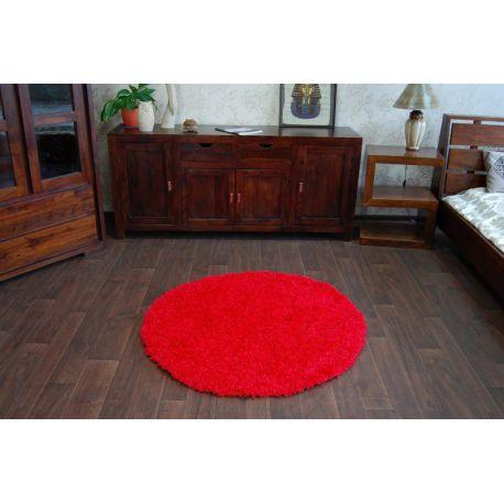 Carpet circle SHAGGY GALAXY 9000 red