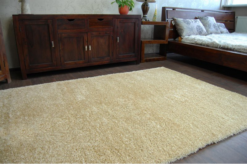 Fluffy cheap soft carpets shaggy 39 narin garlic 39 high for Cheap wall to wall carpet