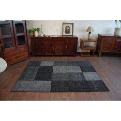 Carpet SILVER ETNO black