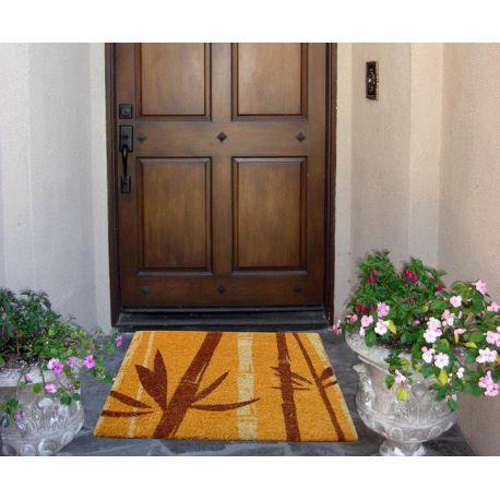 Doormat coconut 40x60 cm orange