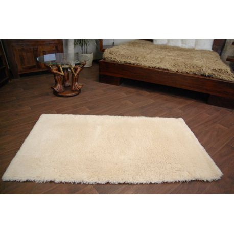 Carpet SHAGGY WEŁNA cream