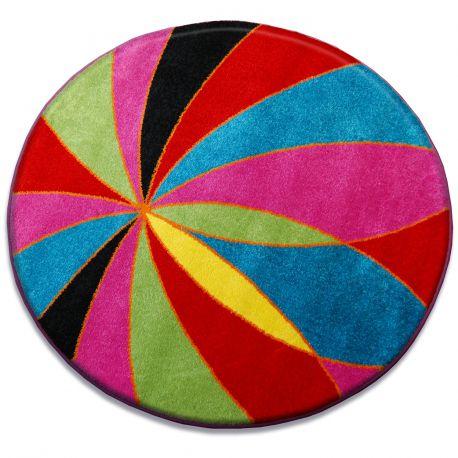 Carpet PAINT circle - 1559 blue
