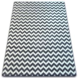 Carpet SKETCH - F561 grey/white - Zigzag