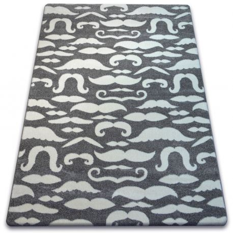 Carpet SKETCH - FA67 grey/white