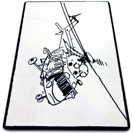 Carpet SKETCH - FA69 white/black