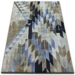 Carpet DROP JASMINE 758 L.blue/Smoke