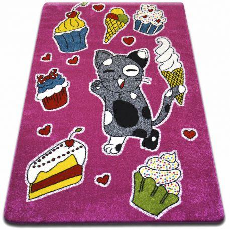 Carpet KIDS Cookie pink C415