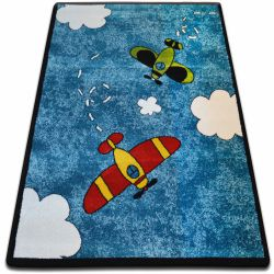 Carpet KIDS Planes blue C413