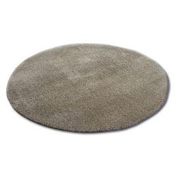 Carpet circle SHAGGY MICRO d.beige