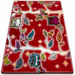 Carpet KIDS Forest red C427