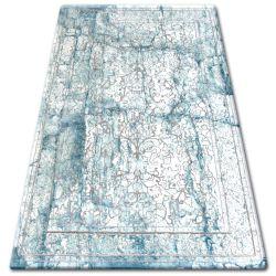 Carpet ACRYLIC TALAS W0027 White/Glass Blue