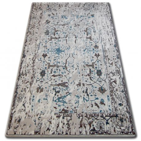 Carpet ACRYLIC TALAS 0309 White/Glass Blue