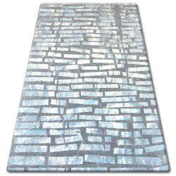 Carpet ACRYLIC PATARA 0244 Cream/Turquise