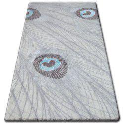 Carpet ACRYLIC PATARA 0052 Cream/Turquise