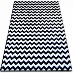 Carpet SKETCH - F561 white/black - Zigzag