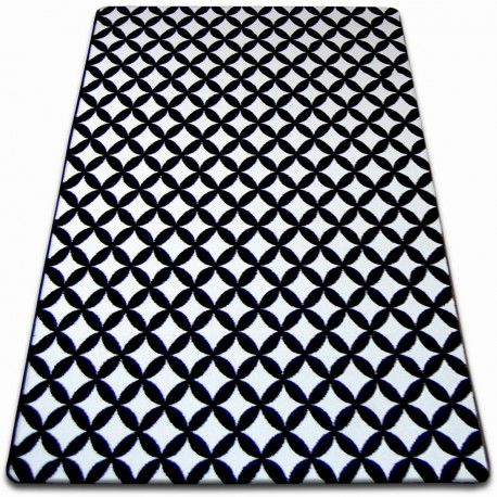Carpet SKETCH - F757 white/black