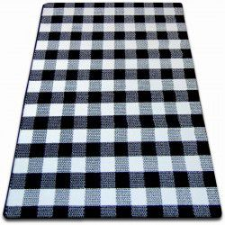 Carpet SKETCH - F759 white/black - chequered