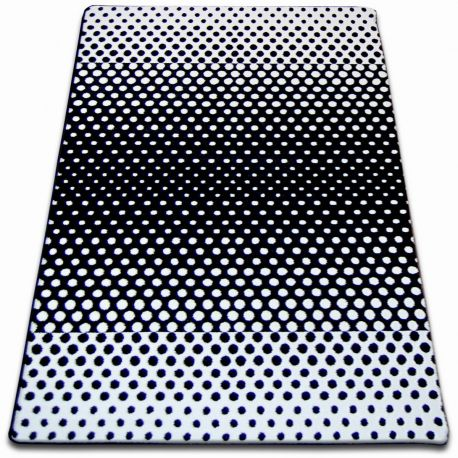 Carpet SKETCH - F762 white/black