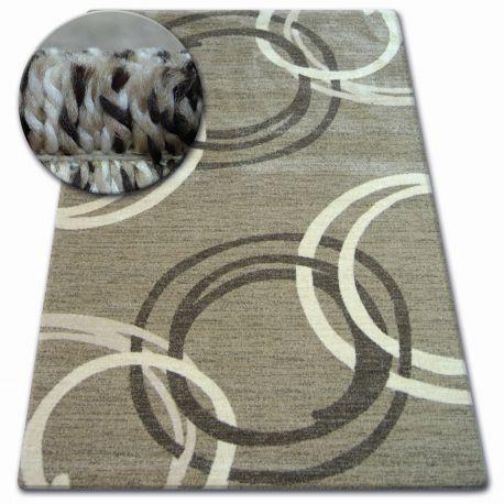 Carpet SHADOW 8645 dark beige / brown