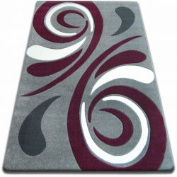Carpet FOCUS -  8695 gray purple WAVE grey